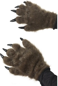 Beauty and the Beast Costumes Hairy hands