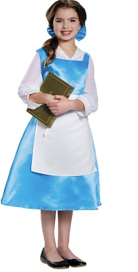 Beauty and the Beast tween Belle Costumes - blue dress
