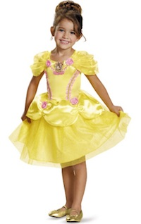 Beauty and the Beast Belle Costumes - kids classic yellow dress