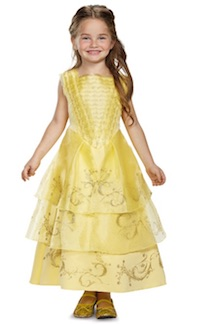 Beauty and the Beast Belle Costumes - child deluxe ball gown