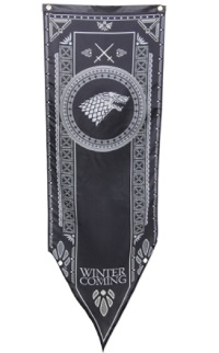 Game of Thrones Banner - Stark Winterfell Tournament