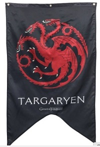 Game of Thrones Banner House of Targaryen