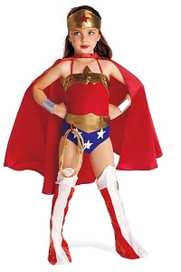 Deluxe Wonder Woman Costume for Kids