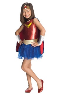 Halloween Wonder Woman Costume TuTu for kids