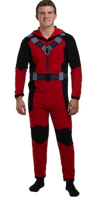 Adult Deadpool Costumes - union suit