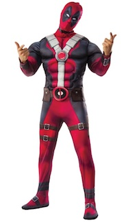 Adult Deadpool costume for adults movie