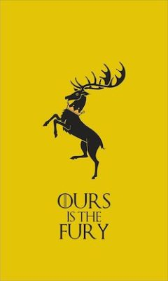 Game of Thrones Banners - Baratheon