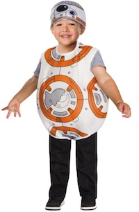 Rey's Companion - BB8 costume for kids