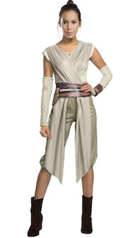 Deluxe Rey Costume Star Wars Adult