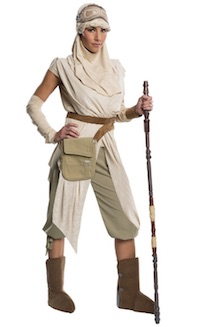 Star Wars Force Awakens Grand Heritage Rey Costume