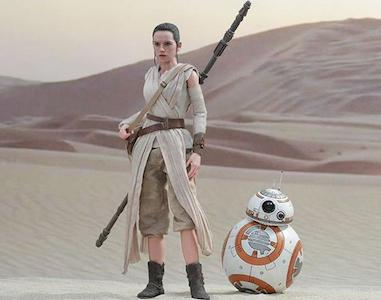 Star Wars Force Awakens Rey Costume