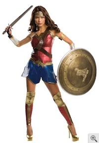 Deluxe Wonder Woman Costume for Adults