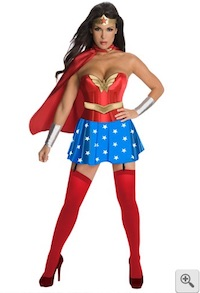 Wonder Woman Corsetted costume for Women