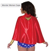 Deluxe Wonder Woman Costume Cape