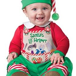 Christmas Cute Baby Elf Costume