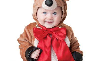Christmas Santa Cute Baby Reindeer Costumes