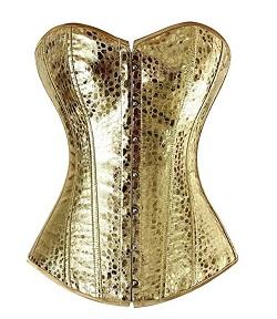 GLOW Netflix Debbie Eagen Liberty Bell Gold Costume - Bodice