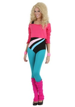 GLOW Netflix 80's Workout Costume Adults