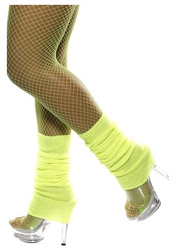 GLOW Netflix 80's Workout Costume Leg warmers
