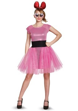 GLOW Netflix Ellen Wong Fortune Cookie Costume Pink Dress