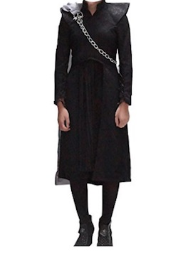 Game of Thrones - Daenerys Cosplay Costume Cape Dress