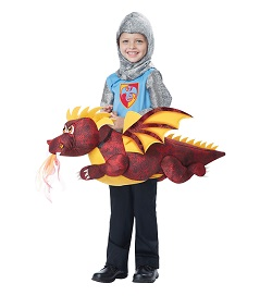 GOT Inspired - Child Riding Drogon costume