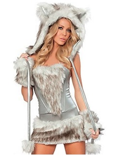 Game of Thrones Sexy Direwolf Costume