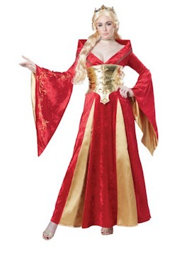 GOT Cersei Costume with MORE gold