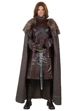 Game of Thrones Ned Stark Costume Lord of Winterfell