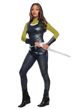 Guardians of the Galaxy Gamora costume for adults