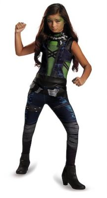 Licensed Gamora costume for kids