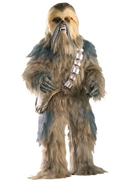 Star Wars Chewbacca Costumes - Adult authentic
