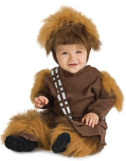Star Wars Chewbacca Costumes - Baby