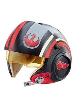 Star Wars The Last Jedi Poe Dameron Costume Helmet