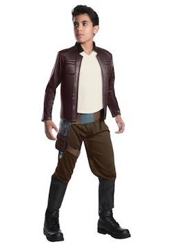 Star Wars The Last Jedi Poe Dameron Kids Costume