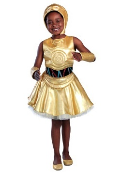 Star Wars C-3PO Costume for Kids Dress