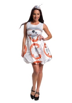 BB-8 costume dress Star Wars Force Awakens