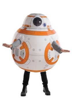 Inflatable BB-8 Costume for Adults