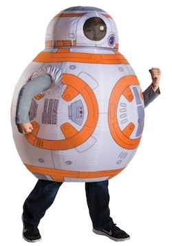 Star Wars Force Awakens Inflatable BB-8 costume for kids