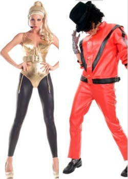 Celebrity Costume Ideas Halloween 2017 - Madonna and Michael Jackson