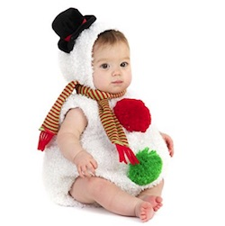 Cute Christmas Baby Snowman Costume