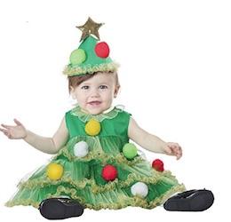 Cute Christmas Baby Christmas Tree Costume