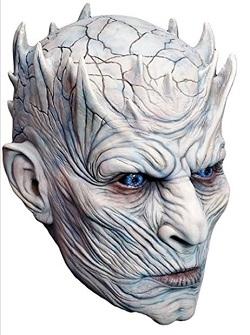 Game of Thrones Night King Javelin Costume - Full head mask
