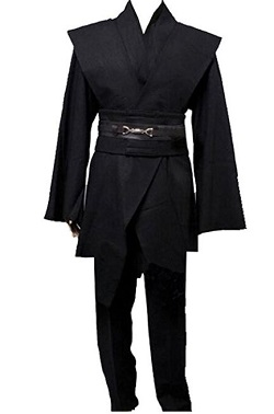 Game of Thrones Night King Javelin Costume - Black Cloak
