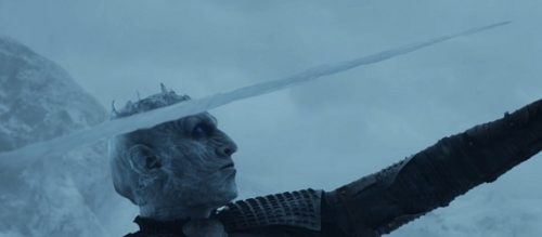 Game of Thrones Night King Javelin Costume