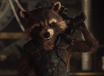 Guardians of the Galaxy Rocket Raccoon Costume for Adults