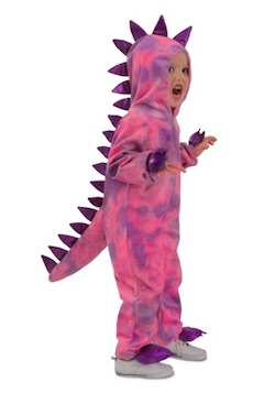 AHalloween Dinosaur Costume for Kids and Adults - Pink dinosaur