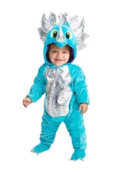 Halloween Dinosaur Costume for Kids and Adults - Blue Dinosaur