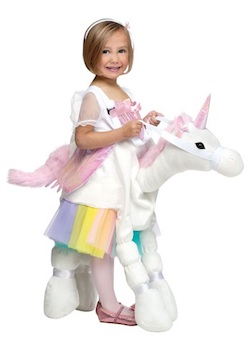 Magical Unicorn Costume for Adults and Kids - ride a unicorn