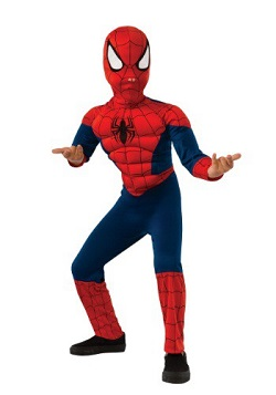 Marvel Comics Kids Spiderman Costume